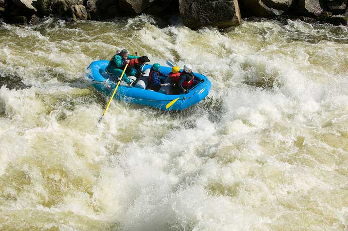Tributary Raft North Fork Payette River Idaho