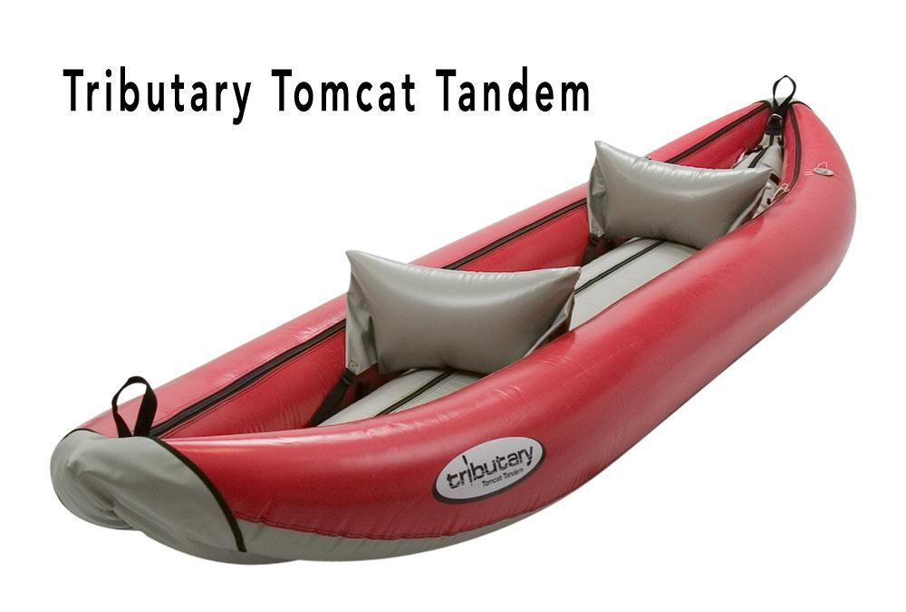 Tributary Tomcat Tandem Inflatable Whitewater Kayak