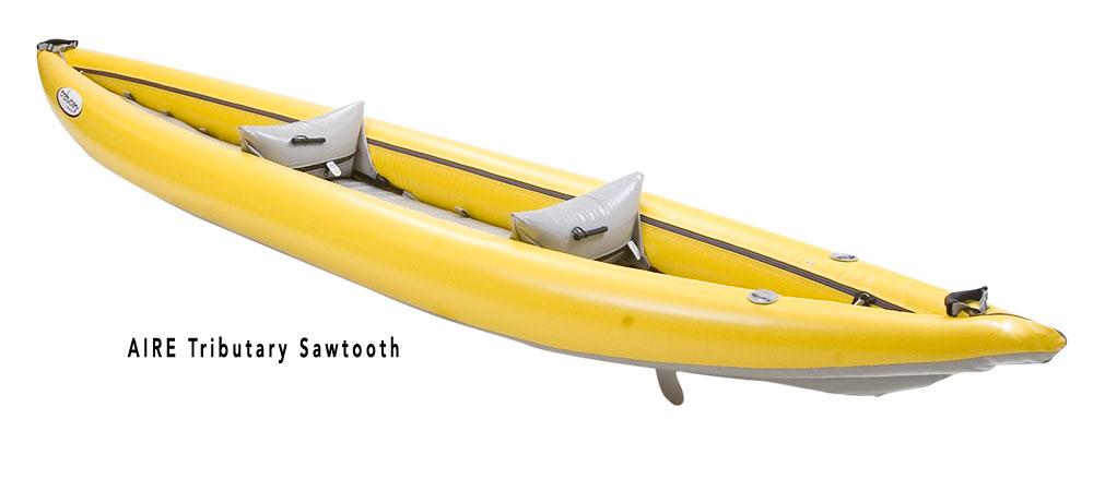 Tributary Sawtooth Kayak rear
